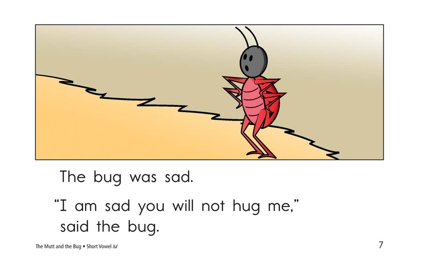 Book Preview For The Mutt and the Bug Page 7