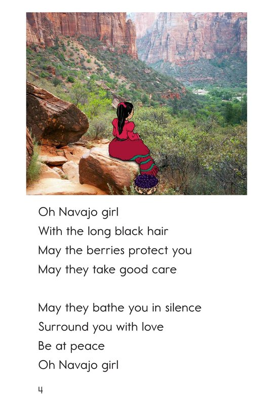 Book Preview For Oh Navajo Girl Page 4