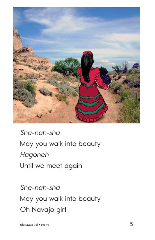Book Preview For Oh Navajo Girl Page 5