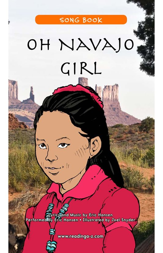 Book Preview For Oh Navajo Girl Page 1