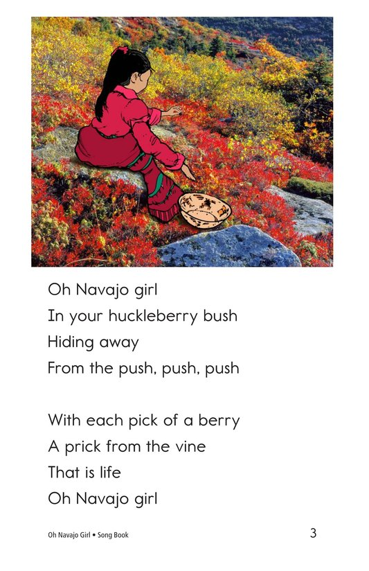 Book Preview For Oh Navajo Girl Page 3