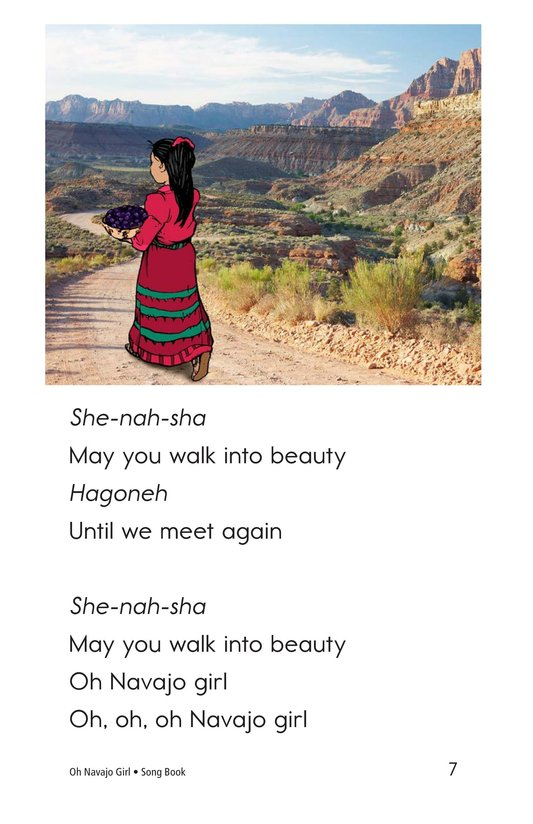 Book Preview For Oh Navajo Girl Page 7
