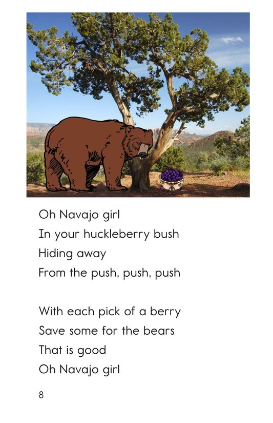 Book Preview For Oh Navajo Girl Page 8