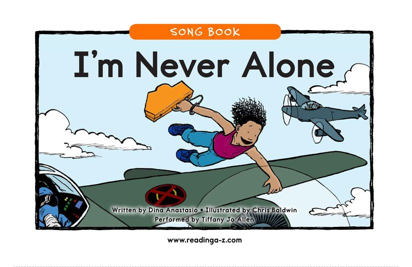 Book Preview For I'm Never Alone (Rap) Page 1