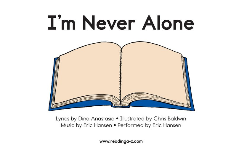 Book Preview For I'm Never Alone (Song) Page 2