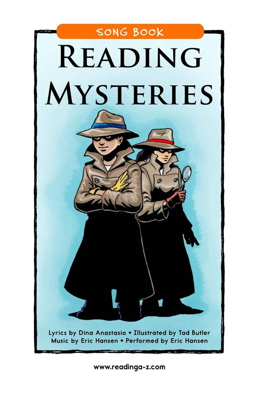 Book Preview For Reading Mysteries Page 1