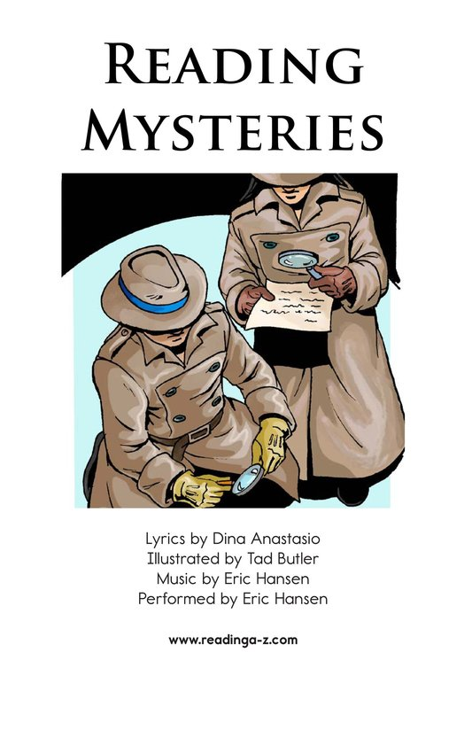 Book Preview For Reading Mysteries Page 2