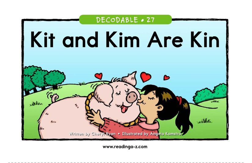 Book Preview For Kit and Kim Are Kin Page 1