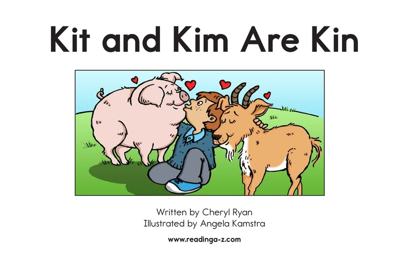 Book Preview For Kit and Kim Are Kin Page 2