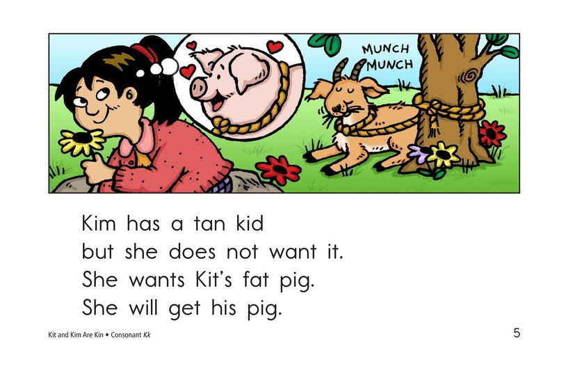 Book Preview For Kit and Kim Are Kin Page 5