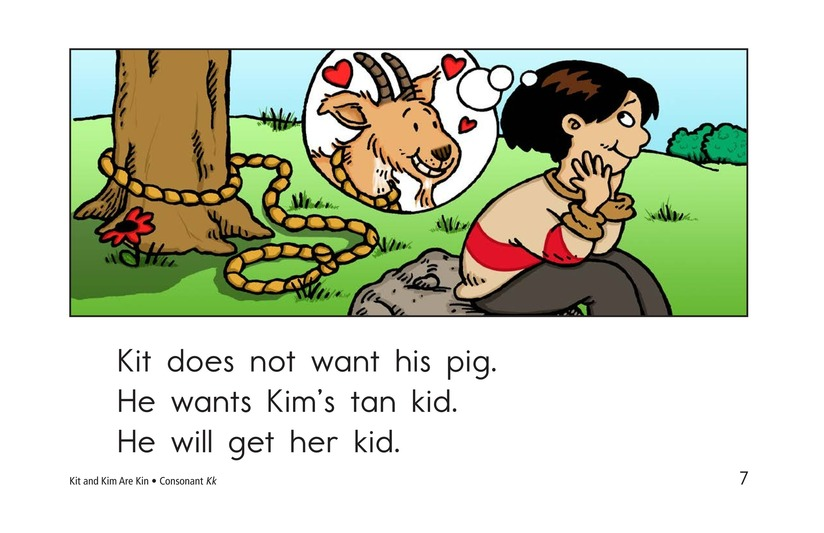 Book Preview For Kit and Kim Are Kin Page 7