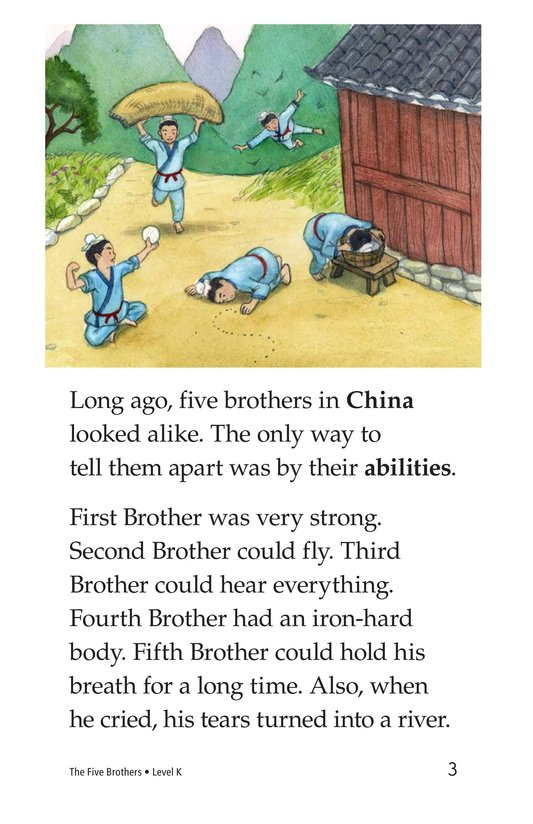 Book Preview For The Five Brothers Page 3