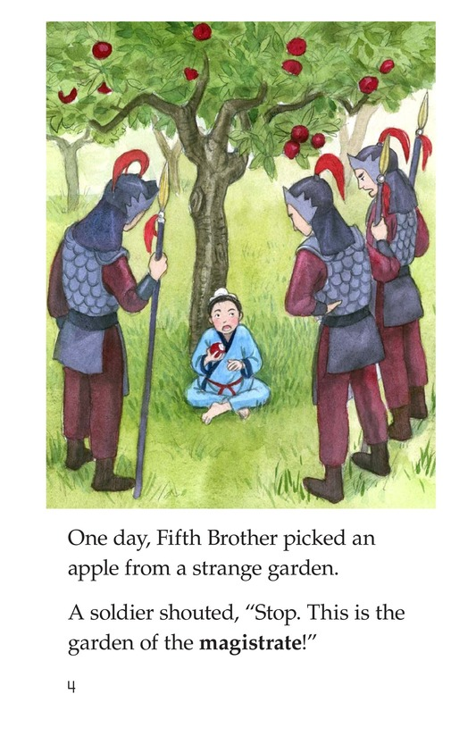 Book Preview For The Five Brothers Page 4