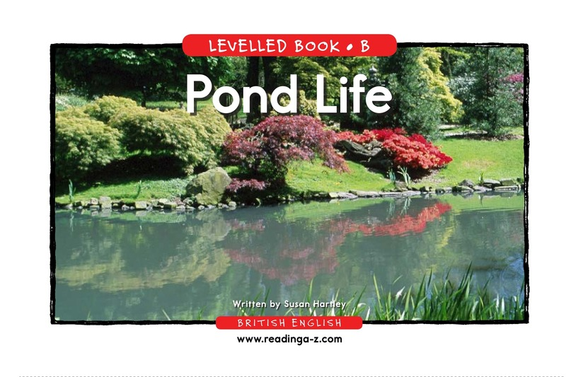 Book Preview For Pond Life Page 1