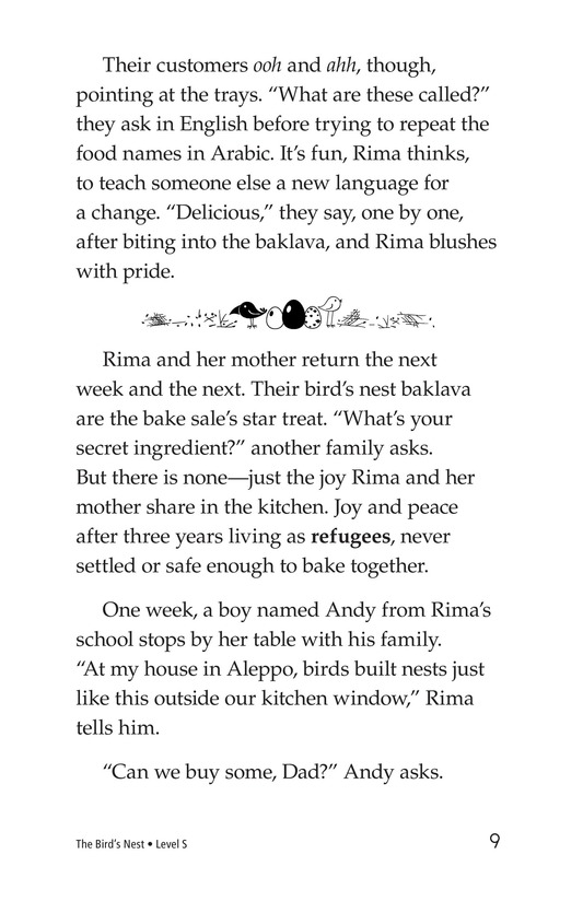 Book Preview For The Bird's Nest Page 9