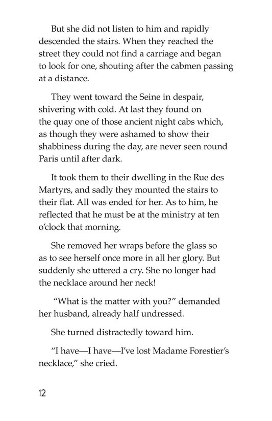 Book Preview For The Necklace Page 12
