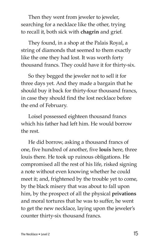 Book Preview For The Necklace Page 15