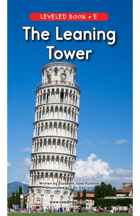 Book Preview For The Leaning Tower Page 0