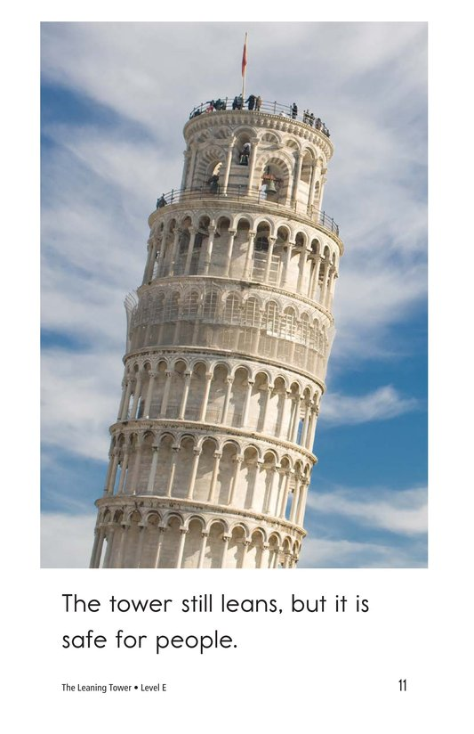 Book Preview For The Leaning Tower Page 11
