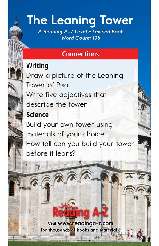 Book Preview For The Leaning Tower Page 13