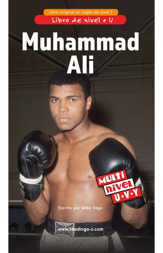 Book Preview For Muhammad Ali Page 0