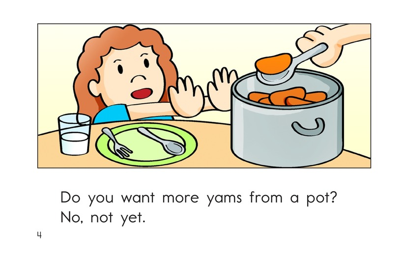 Book Preview For Yum, Yum Yams Page 4