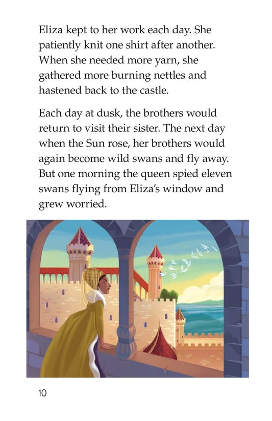 Book Preview For The Wild Swans Page 10