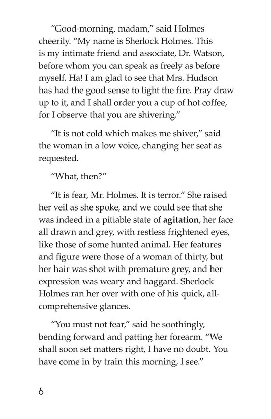 Book Preview For The Adventure of the Speckled Band (Part 1) Page 6