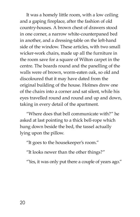 Book Preview For The Adventure of the Speckled Band (Part 2) Page 20