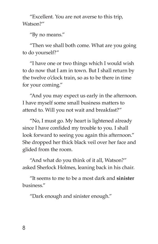 Book Preview For The Adventure of the Speckled Band (Part 2) Page 8