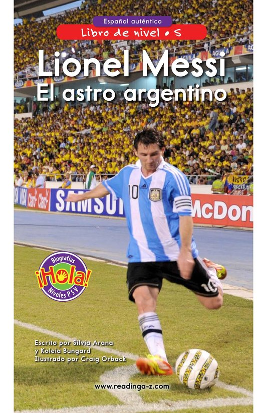 Book Preview For Lionel Messi, El astro argentino Page 0