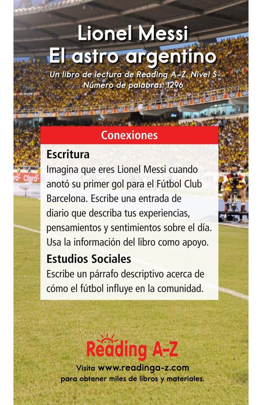 Book Preview For Lionel Messi, El astro argentino Page 17