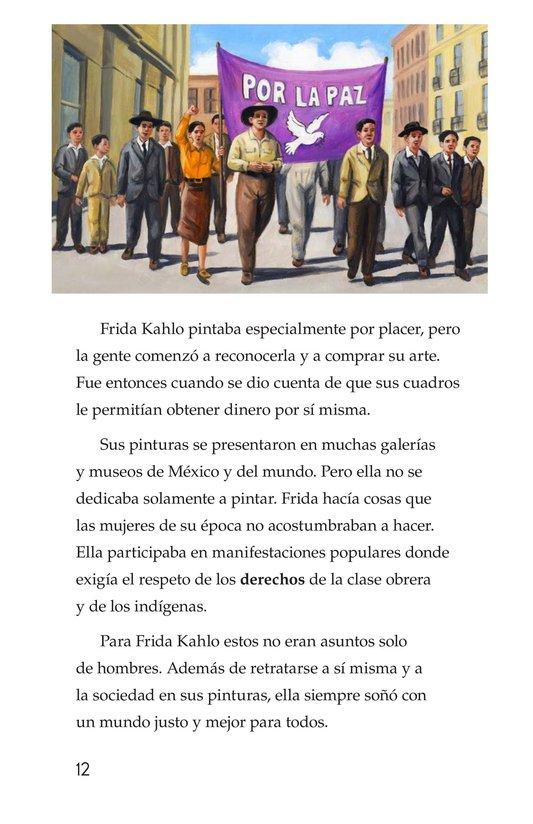 Book Preview For Frida Kahlo, una pintora de mil colores Page 12