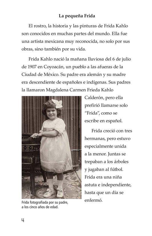 Book Preview For Frida Kahlo, una pintora de mil colores Page 4