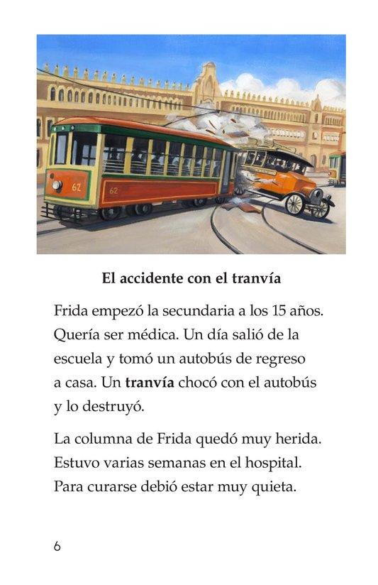 Book Preview For Frida Kahlo, una pintora de mil colores Page 6