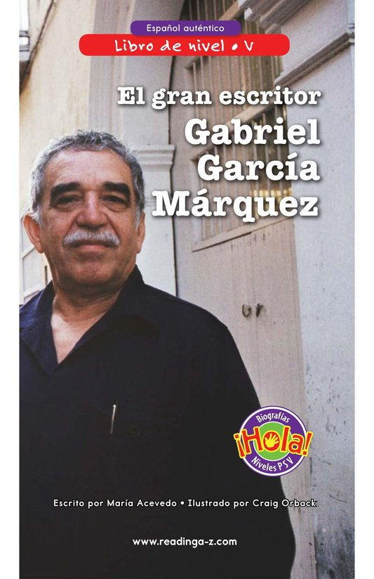 Book Preview For El gran escritor, Gabriel García Márquez Page 0