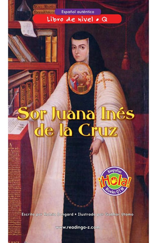 Book Preview For Sor Juana Inés de la Cruz Page 0
