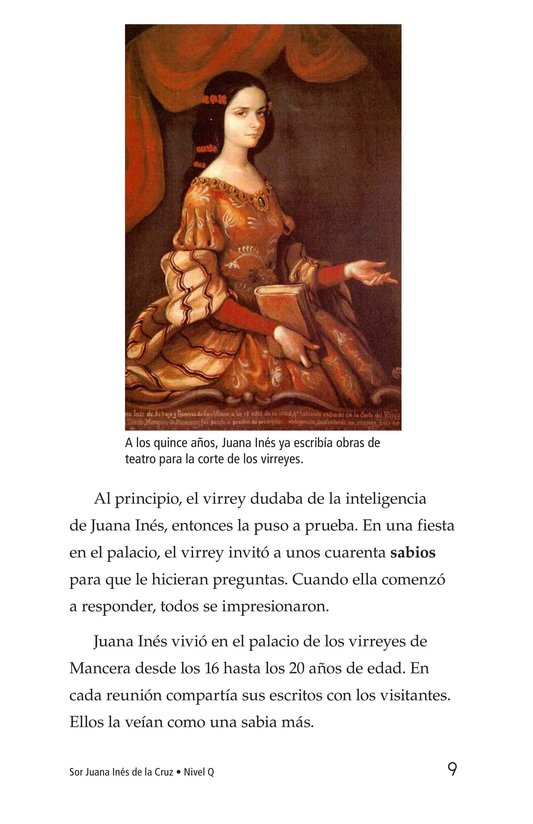 Book Preview For Sor Juana Inés de la Cruz Page 9