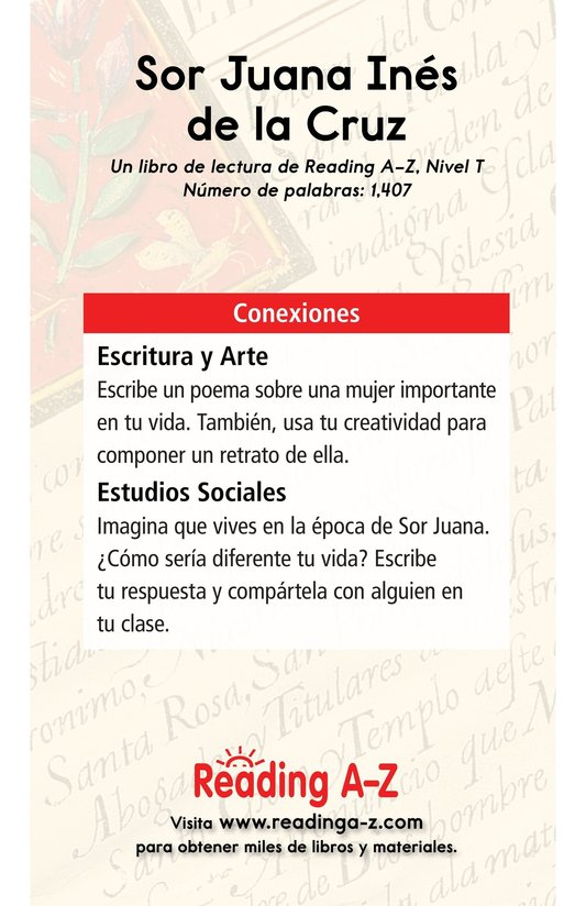 Book Preview For Sor Juana Inés de la Cruz Page 17