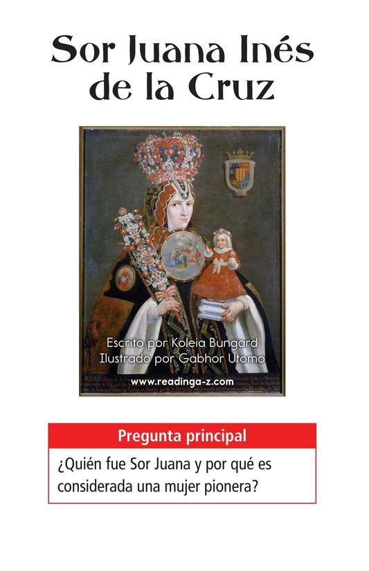 Book Preview For Sor Juana Inés de la Cruz Page 1