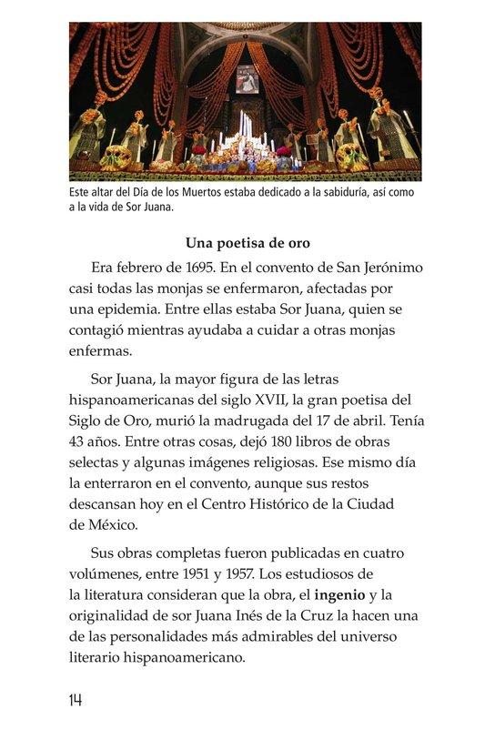 Book Preview For Sor Juana Inés de la Cruz Page 14