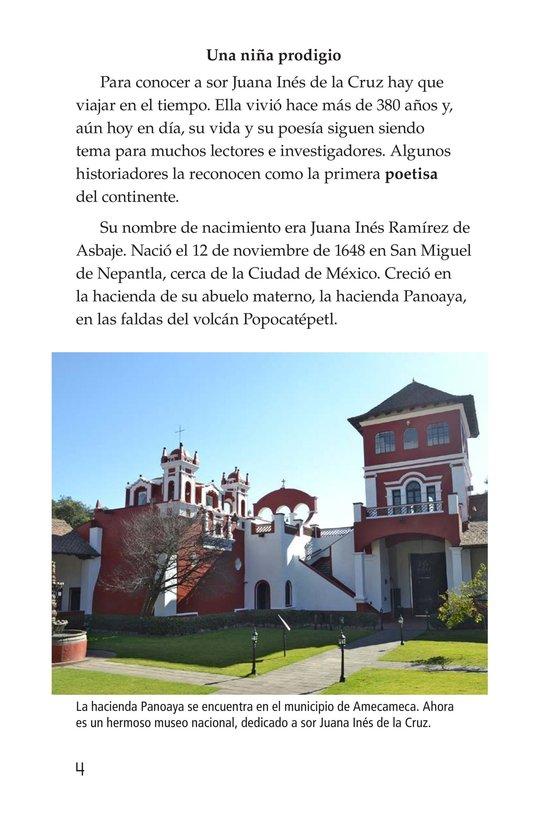 Book Preview For Sor Juana Inés de la Cruz Page 4