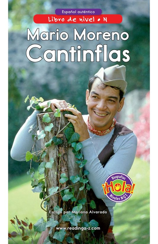 Book Preview For Mario Moreno, Cantinflas Page 0