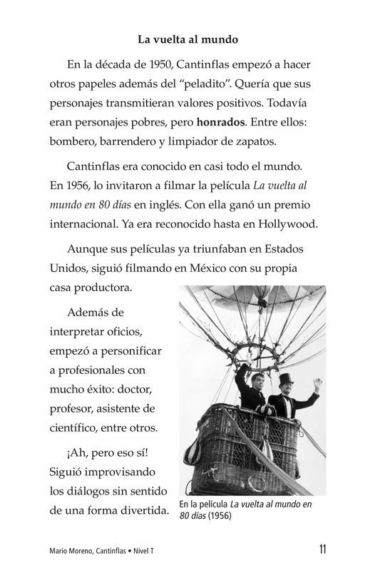 Book Preview For Mario Moreno, Cantinflas Page 11