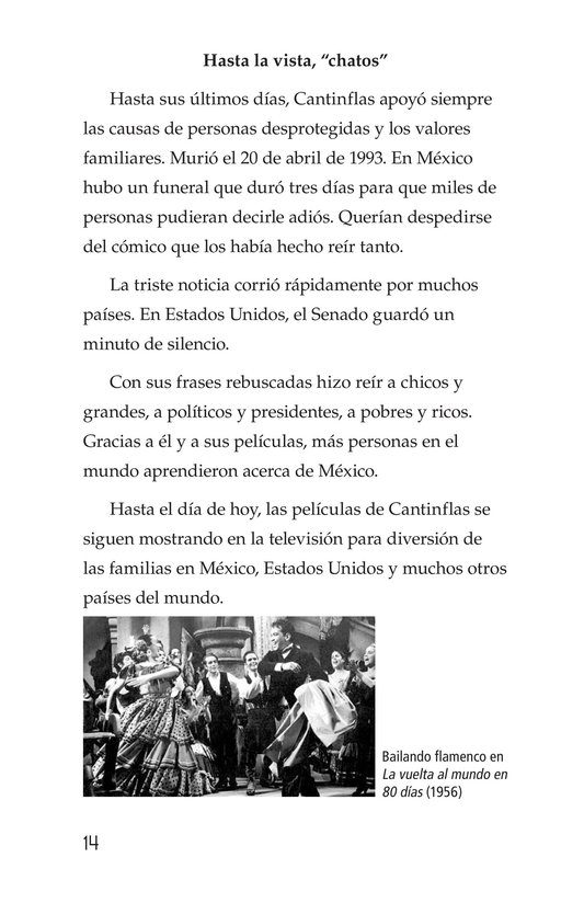 Book Preview For Mario Moreno, Cantinflas Page 14