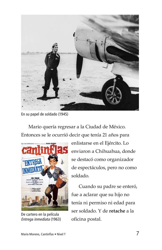 Book Preview For Mario Moreno, Cantinflas Page 7