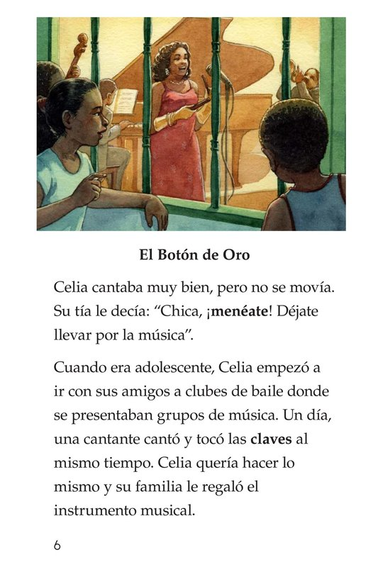 Book Preview For Celia Cruz, ¡Qué salsa más rica! Page 6