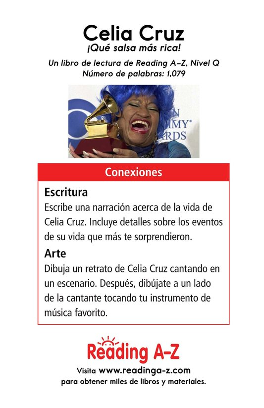 Book Preview For Celia Cruz, ¡Qué salsa más rica! Page 17