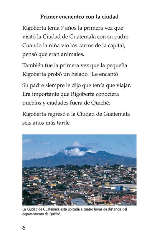 Book Preview For Rigoberta Menchú, La lideresa quiché Page 6