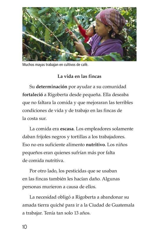 Book Preview For Rigoberta Menchú, La lideresa quiché Page 10